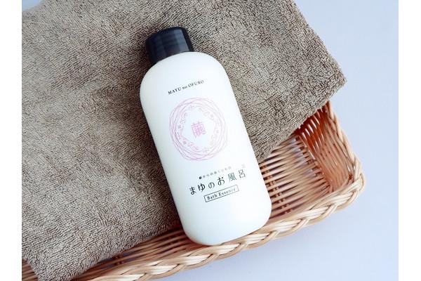 まゆのお風呂 ボトル〈浴用化粧料〉