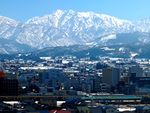 Tateyama mountains
