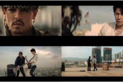 【超Man】強尼戴普和福山雅治一起拍攝啤酒廣告!! 熱情彈奏的兩人Man到不行!
