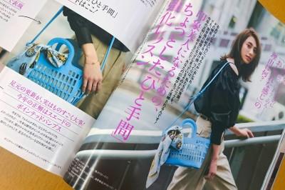「怎麼看都像洗衣籃…」日本時尚雜誌『Oggi』6月號上刊登的高級包包令人驚恐。 「是打算去投幣式洗衣店嗎」、「根本洗衣籃」