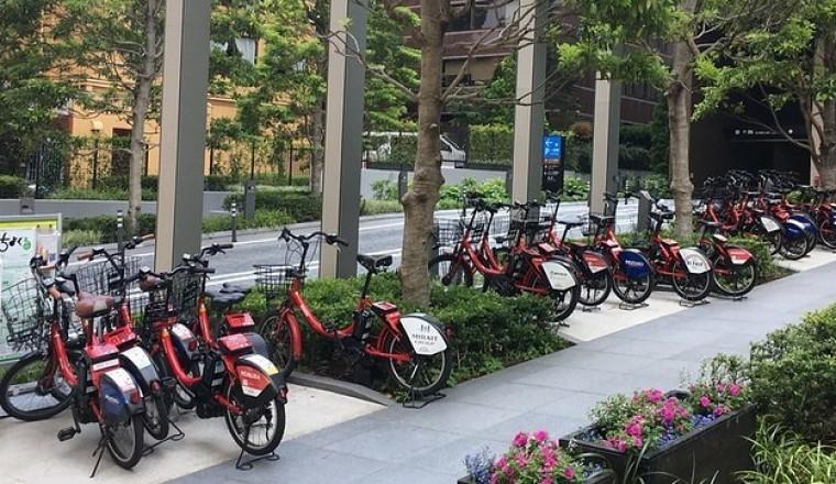 東京都內旅遊的話,可以考慮『公共自行車』超~方便
