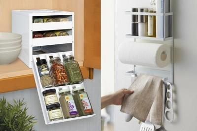 讓狹窄廚房更寬敞! 超好用收納用商品