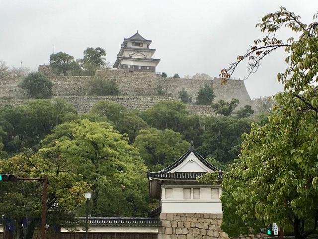 ⭐️丸亀城 ①  〈特長〉見事❗️な石垣