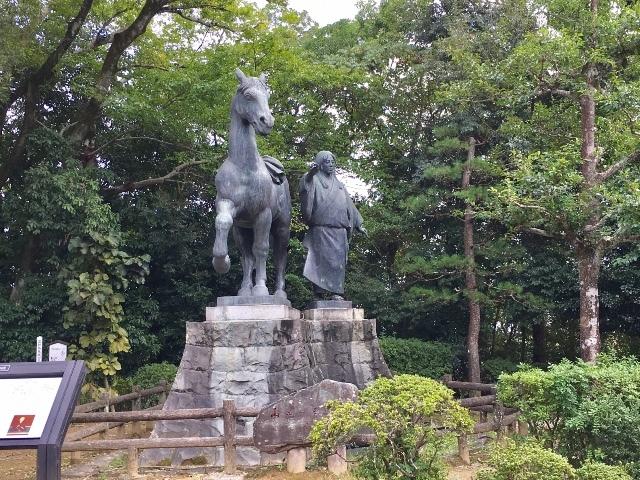 高知城 ④  妻千代と名馬