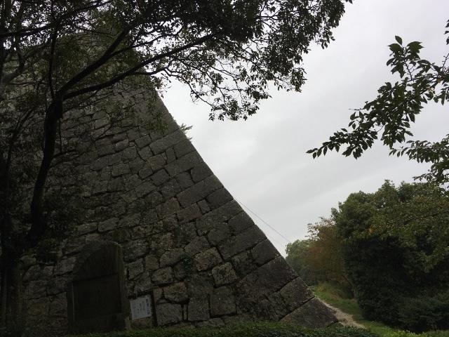 丸亀城 ④  見返り坂