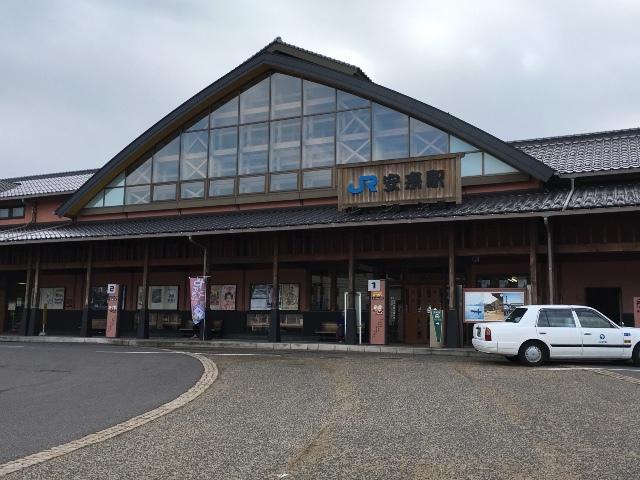 安来(やすぎ)駅 ①