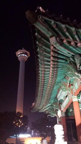 南浦洞、龍頭山公園 釜山タワー