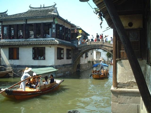 上海、一人旅♪ 思い出の周荘鎮🇨🇳