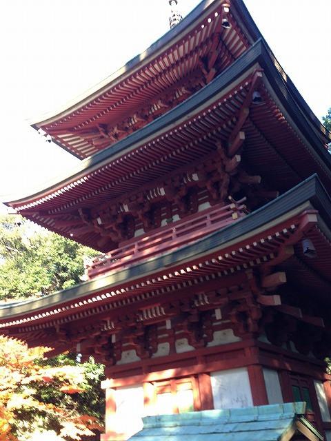 油山寺 五重塔