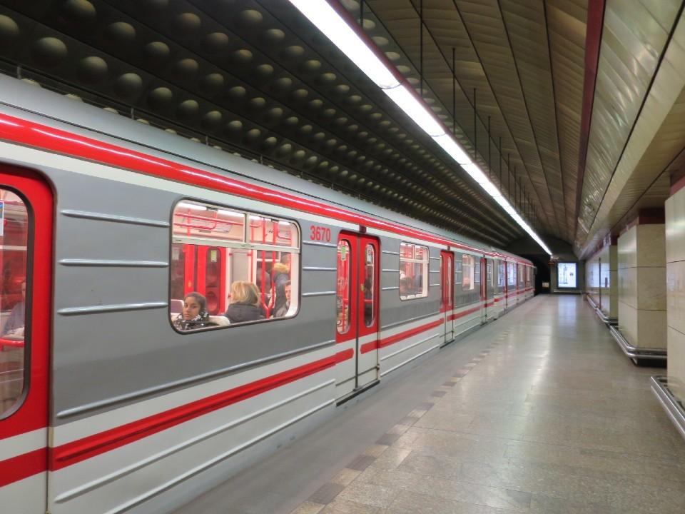 チェコの地下鉄