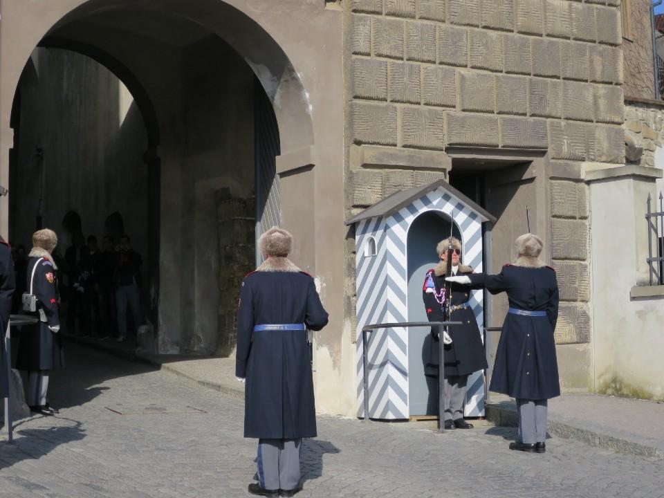 プラハ城の衛兵交代