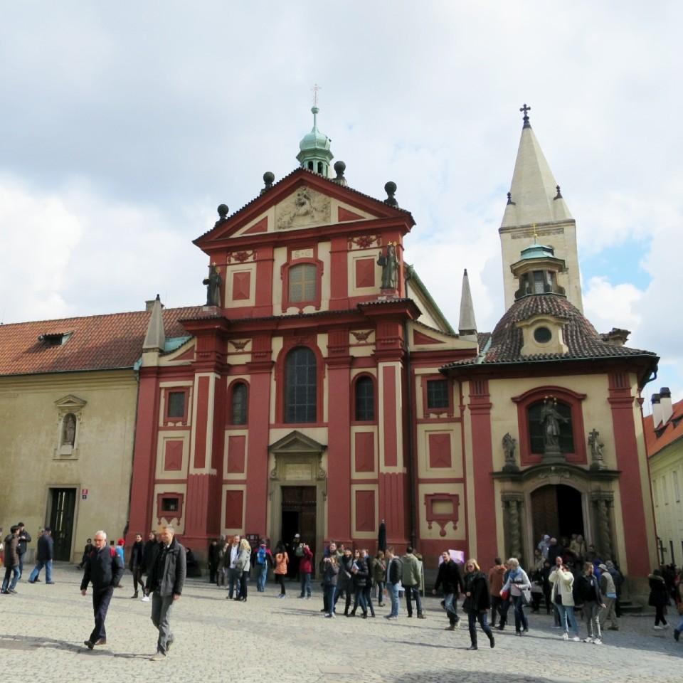 チェコ 聖イジー教会