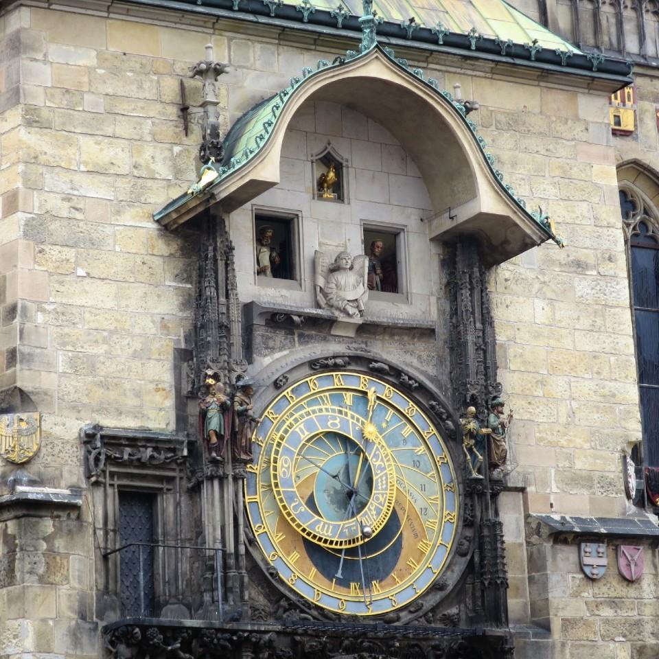 チェコ 天文時計のからくり