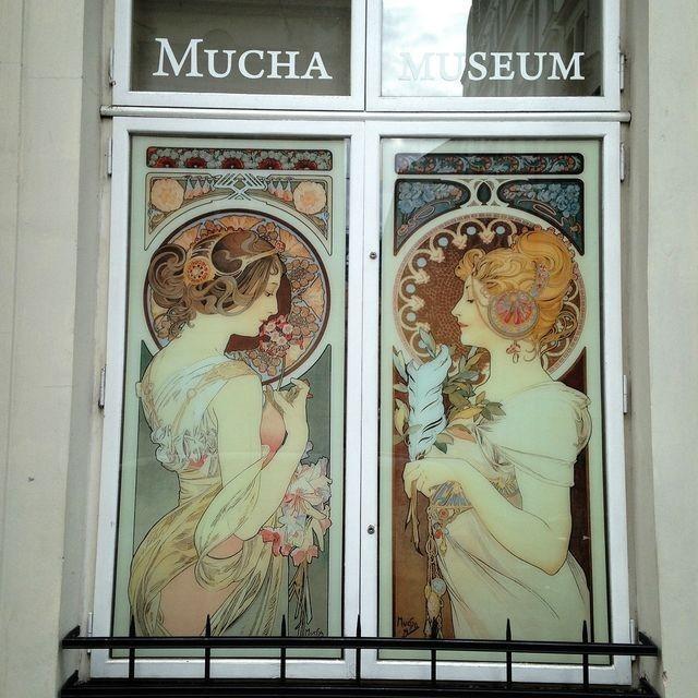 チェコ ミュシャ美術館