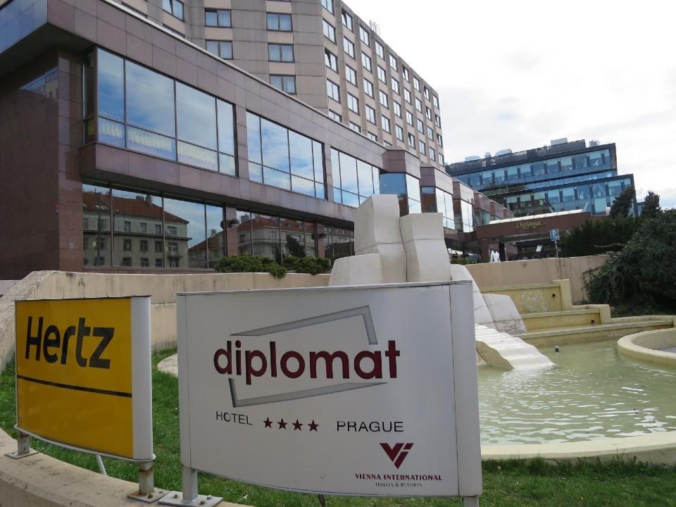 ディプロマット プラハ ホテル