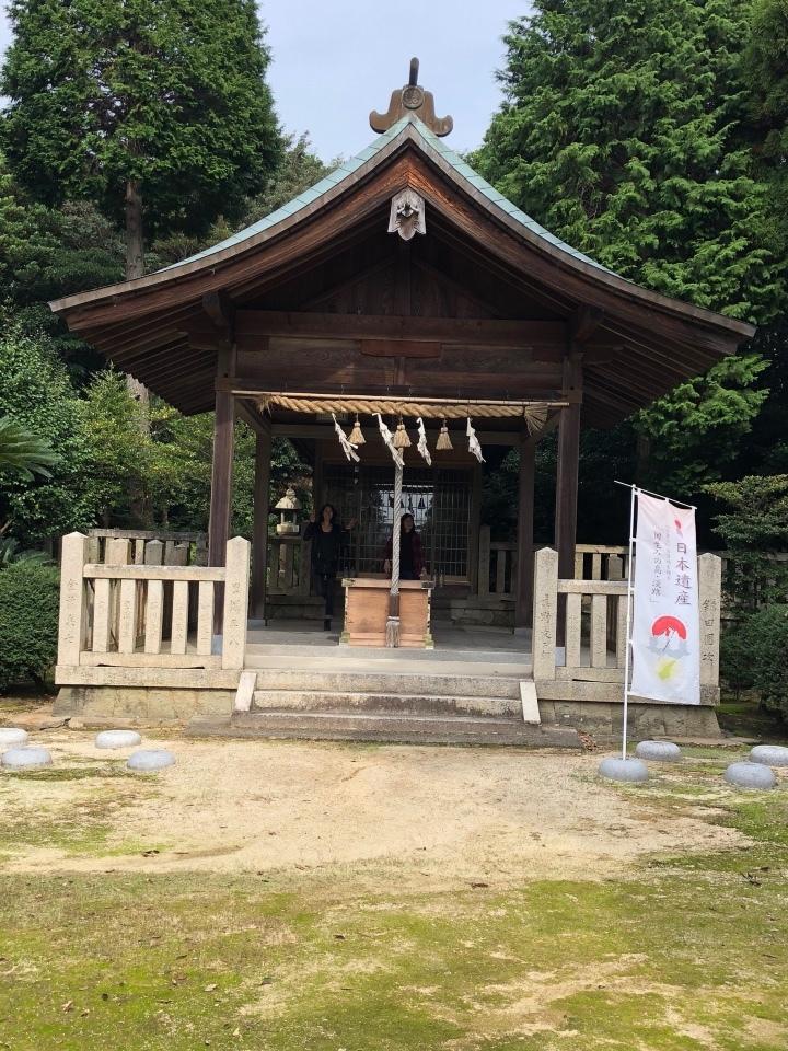 大和大国魂神社 社殿
