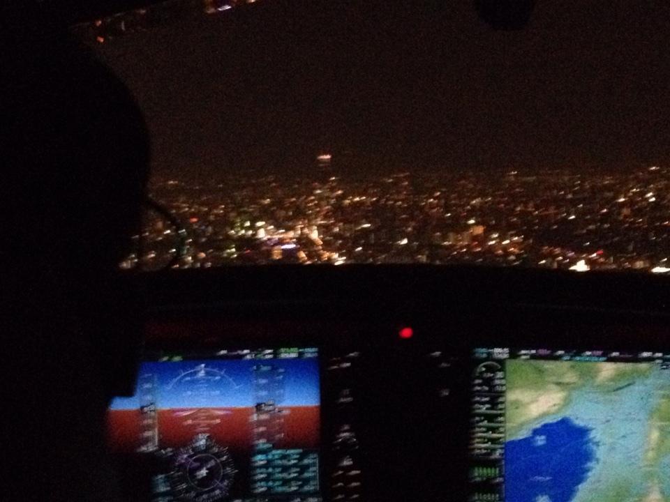 機内からの写真