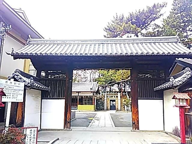 茨木城搦手門