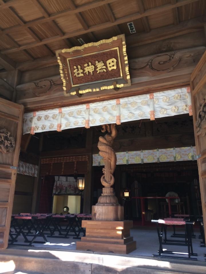社殿 (金龍神)