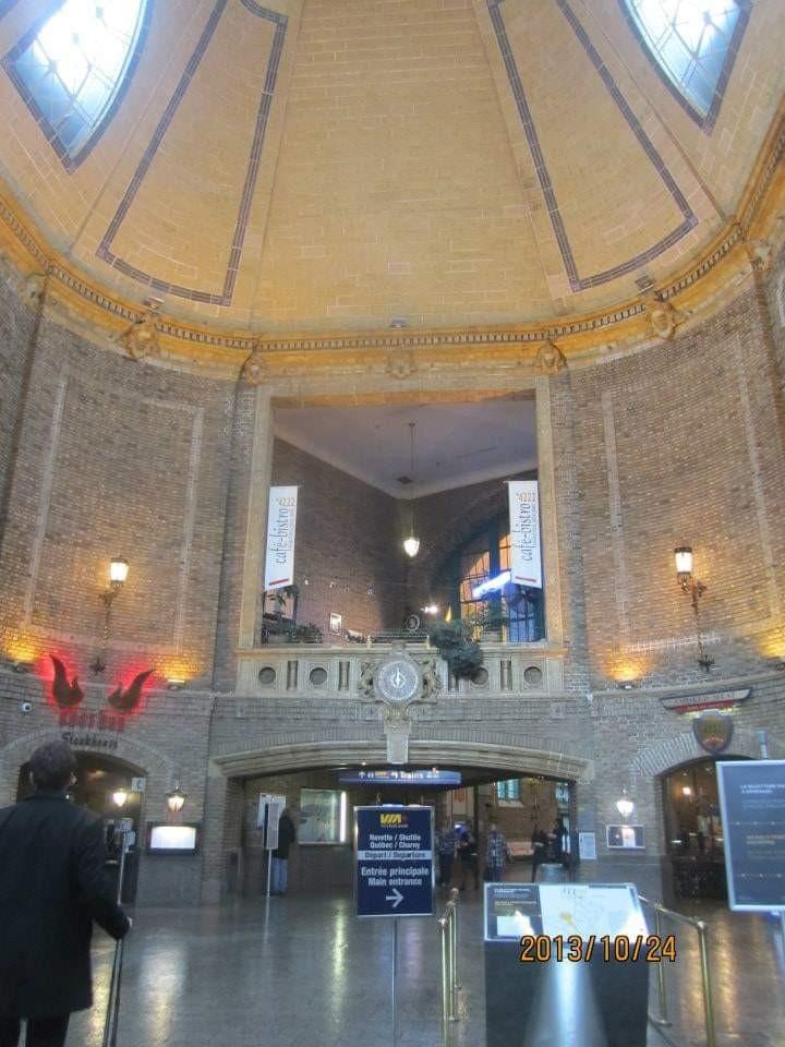 ケベックシティVIA鉄道駅