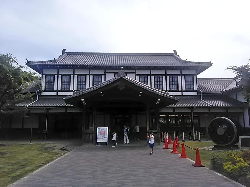旧二条城駅舎