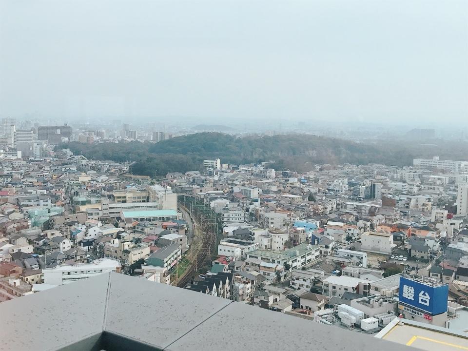 堺市役所21階展望ロビー③