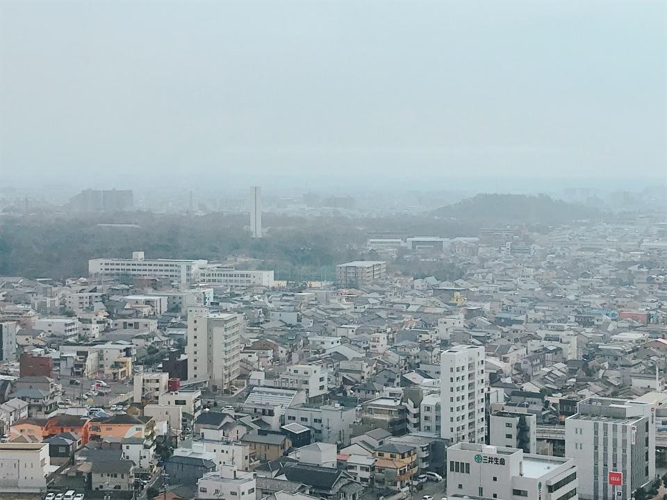 堺市役所21階展望ロビー④
