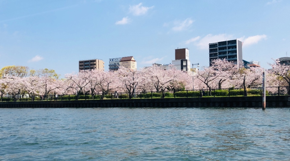 京阪・水上バス「アクアライナー」