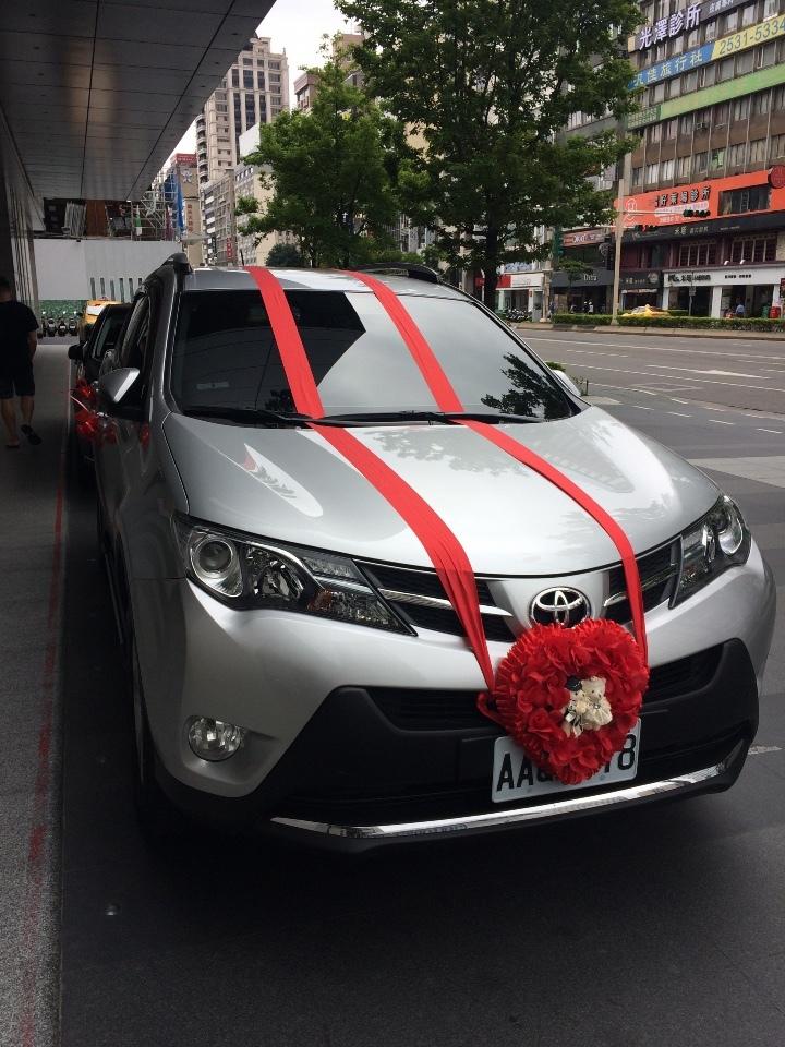 台湾の結婚式用の車