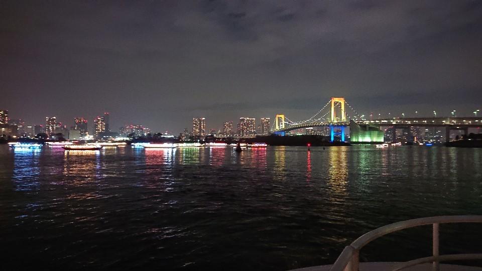 お台場から東京湾周遊