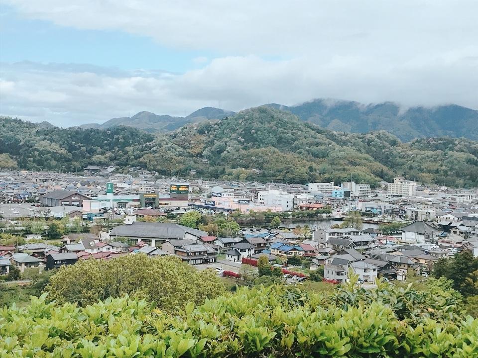 彦根城⑤頂上からの景色