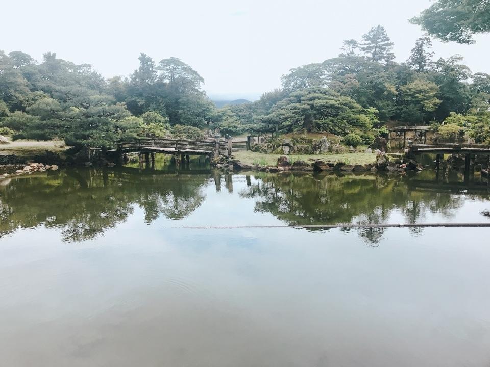 玄宮園①日本庭園