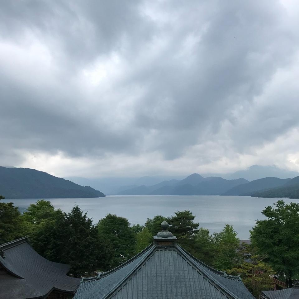 立木観音からの景色