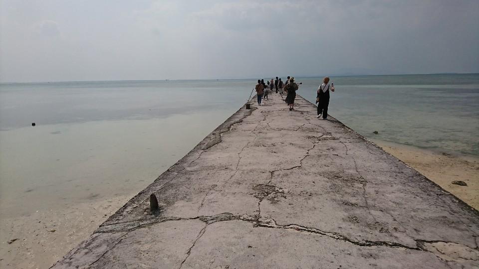 竹富島西桟橋