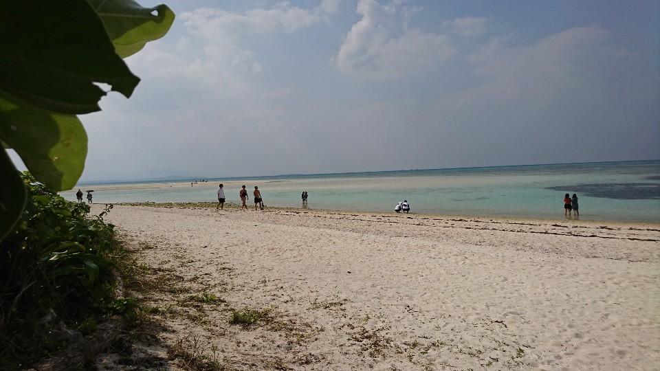 竹富島コンドイビーチ