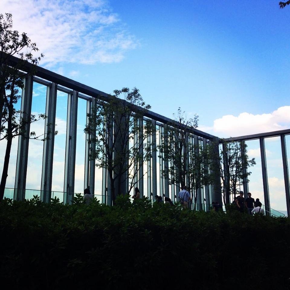 あべのハルカス美術館・テラス
