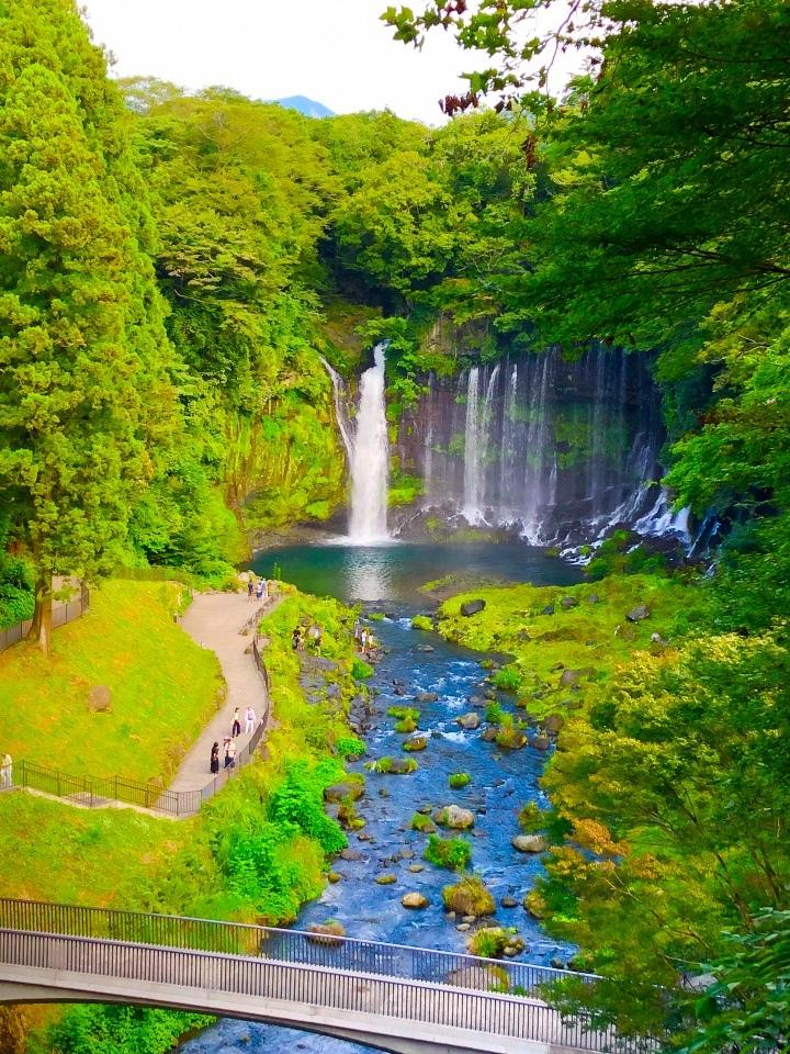 富士宮市  白糸の滝
