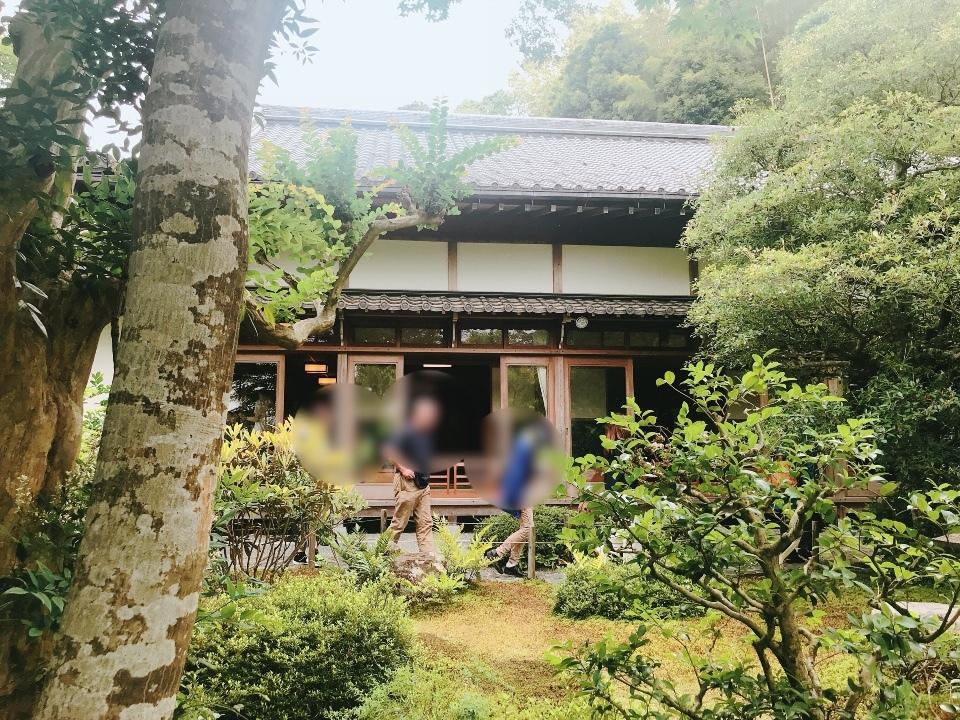 鈴虫寺③鈴虫説法