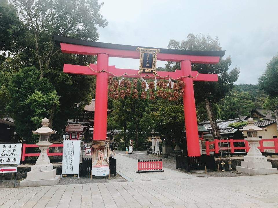 松尾大社②赤鳥居