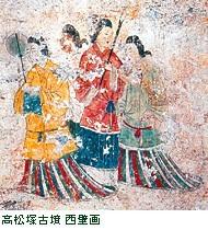 高松塚古墳 壁画修理作業室