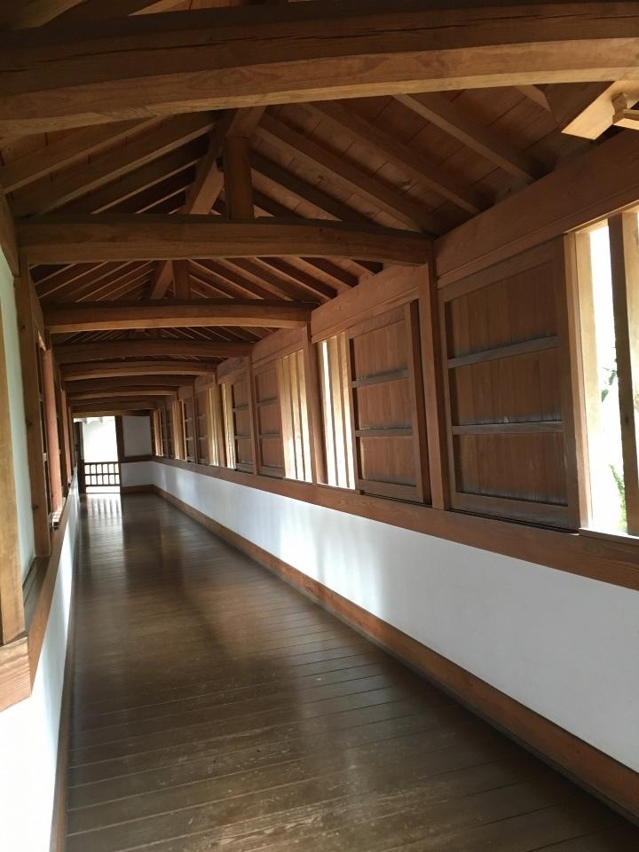 姫路城西の丸 百間廊下