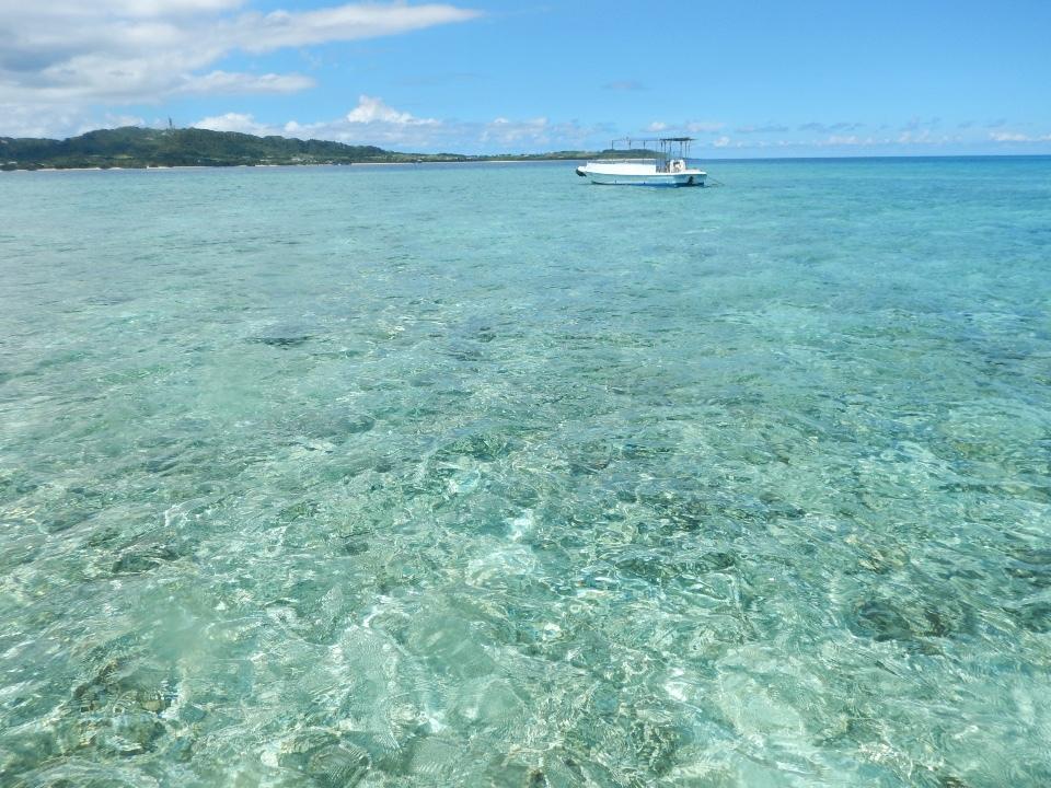 離島の海で、元気をもらえた旅