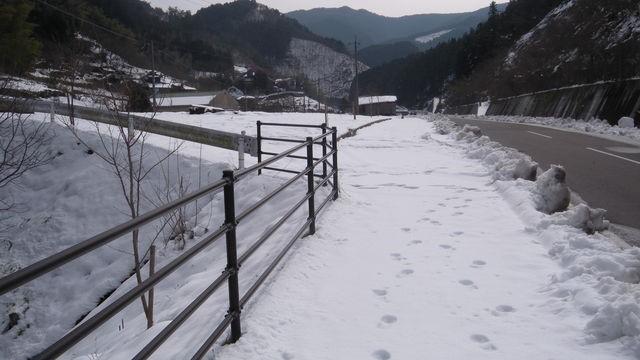 雪の峠越え