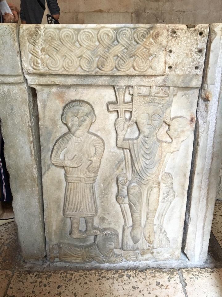 ディオクレティアヌス宮殿・洗礼室