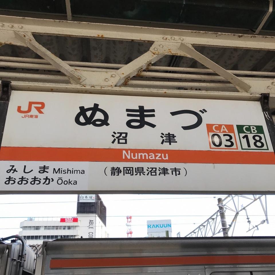 東海道線、御殿場線、小田急線で帰京