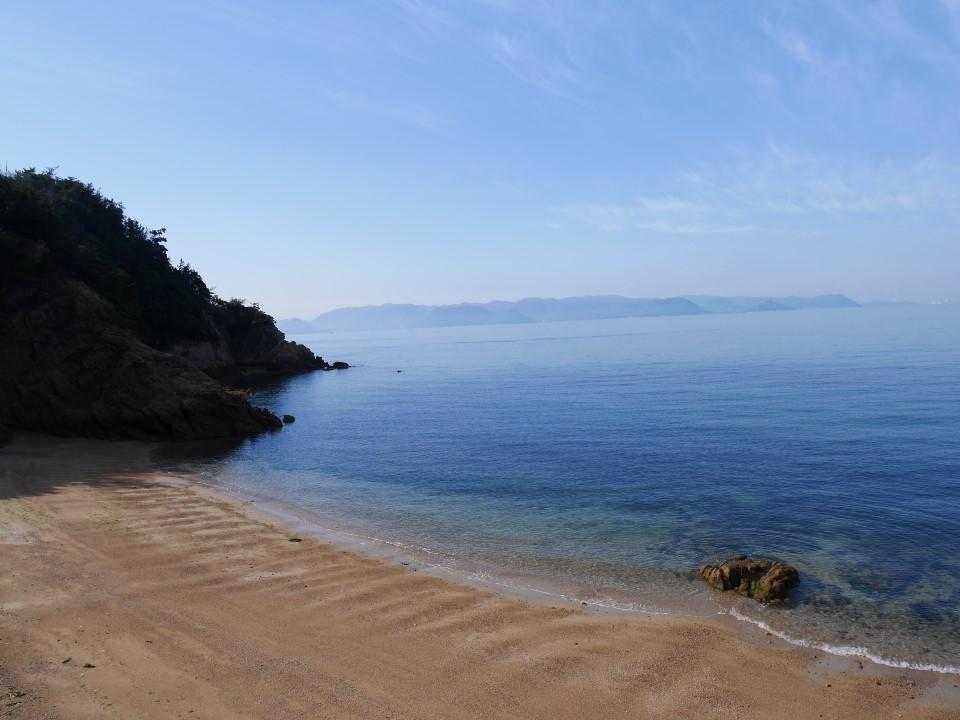 直島の海岸