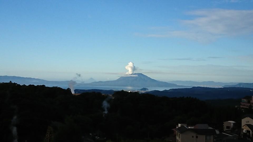 母と霧島、桜島の旅