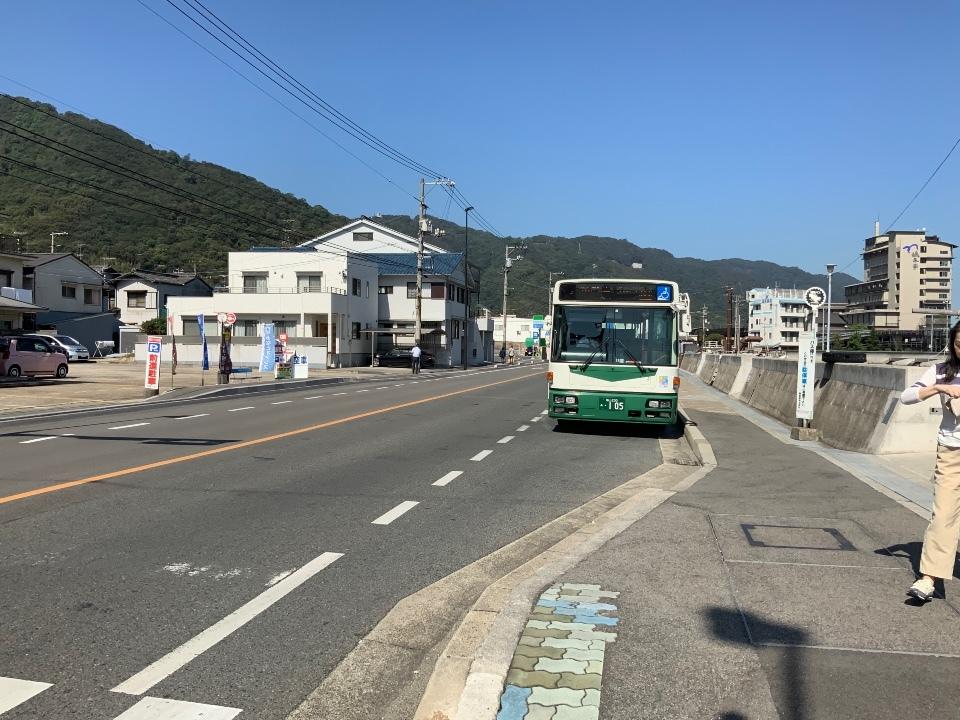 鞆の浦バス停