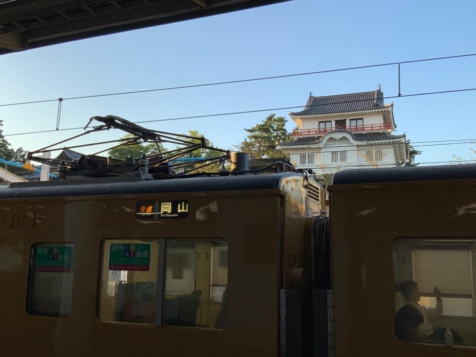 福山駅到着》1日目は終わり