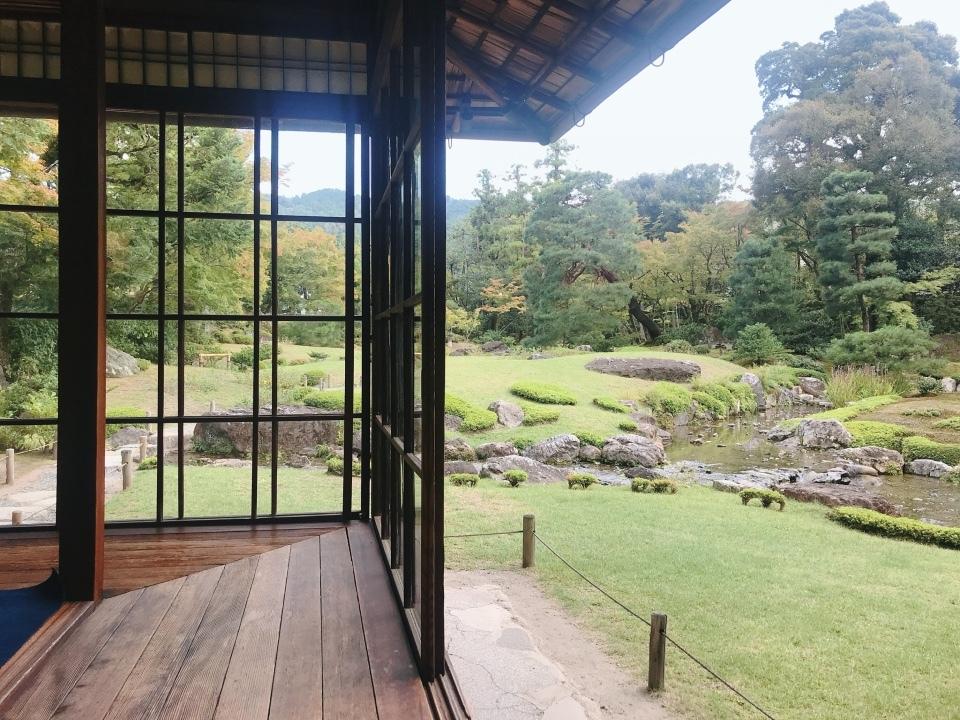 無鄰菴(むりんあん)の日本庭園と洋館【京都】